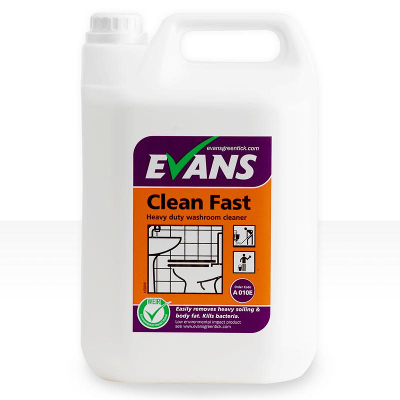 Clean Fast 750ml Heavy Duty Foaming Washroom Cleaner Spray