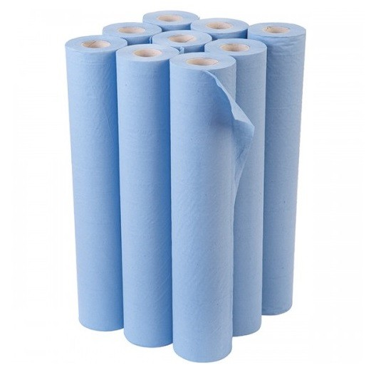 Our 40m couch rolls are made from 2 ply recycled paper and are 50.8cm (20 inches) wide to fit any standard couch. The rolls are perforated at 40cm intervals, and are individually polythene wrapped for increased hygiene.