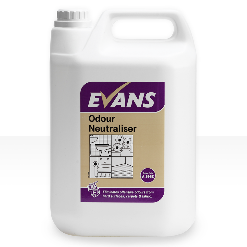 Highly effective, quick acting, ready to use formulation. Suitable for use against urine, tobacco smoke, rancid food and pet odours. Kills bacteria. Passes EN 1276